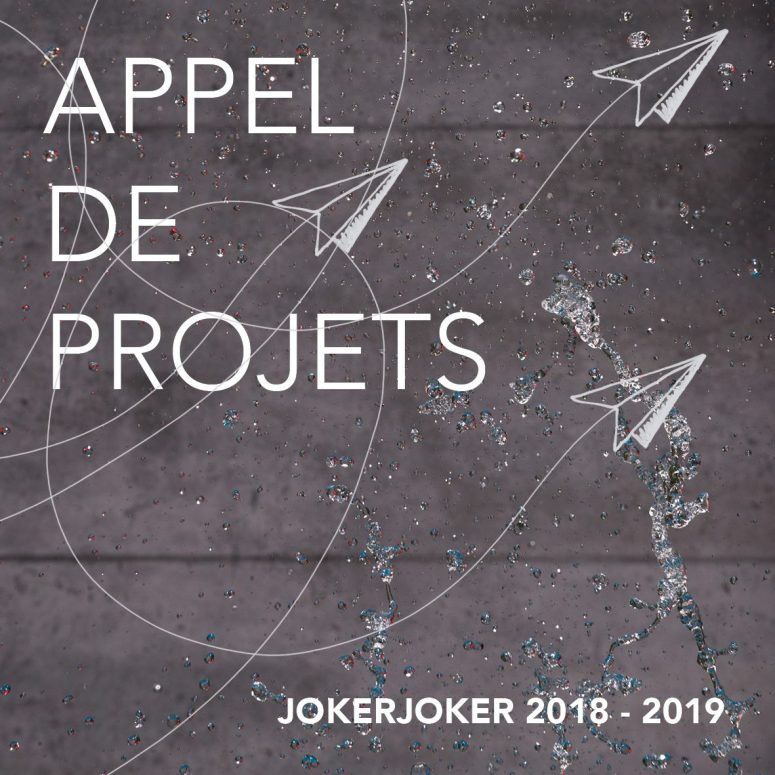 Appel de projets : 2018-2019
